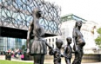 Hooray for Single Mums - 'A Real Birmingham Family' Statue Revealed